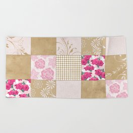 Spring Time - Patchwork Beach Towel