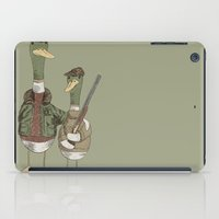 hunting iPad Cases featuring Hunting Ducks by David Fleck