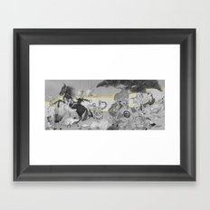 Garden Feast Framed Art Print