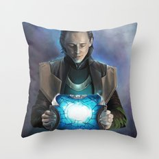 Loki #2 Throw Pillow