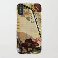 football iPhone & iPod Cases featuring Football by Tami Cudahy