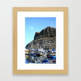 Madeira Boats Framed Art Print