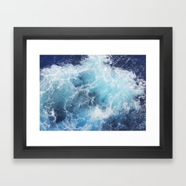 Ocean Waves Framed Art Print