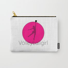 Volleyballgirl Volleyball sports gift idea Carry-All Pouch