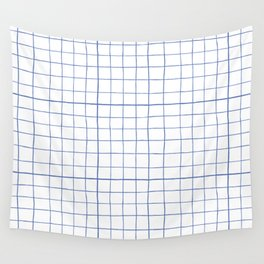 Graph paper Wall Tapestry