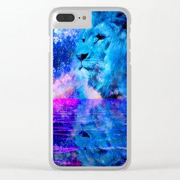 BEHOLD THE LION OF JUDAH Clear iPhone Case