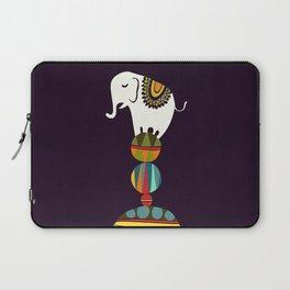 Elephant Circus Laptop Sleeve