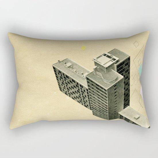 The Modern World Rectangular Pillow