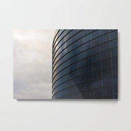 The European Parlament Metal Print