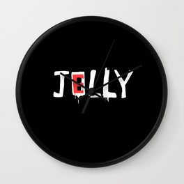 Jelly / Jolly Wall Clock