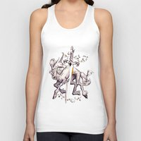 witchcraft Tank Tops featuring Witchcraft by Janet Kim