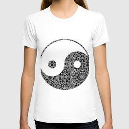 Perfect Balance 1 - Yin and Yang Stone Rock'd Art by Sharon Cummings T-shirt