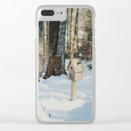 Attersee (3) Clear iPhone Case