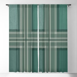 Shades of green Blackout Curtain