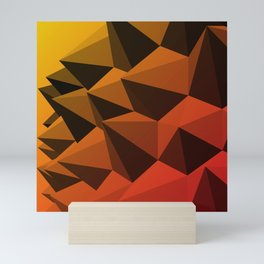 Spiky Brutalism - Swiss Army Pavilion Mini Art Print