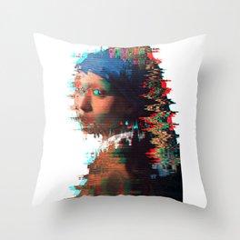 The Girl who...2 Throw Pillow