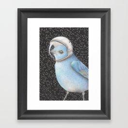 Bird space Framed Art Print