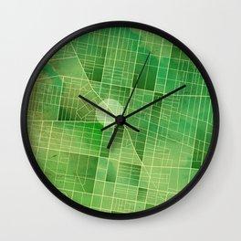 Map - Fairmount - Philadelphia Wall Clock