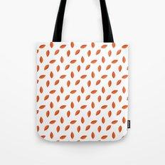 Orange Leaves Tote Bag