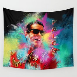 Colorful Dust Falco Wall Tapestry