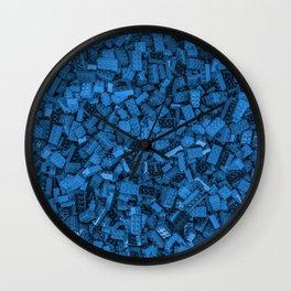 Master builder Blue Wall Clock