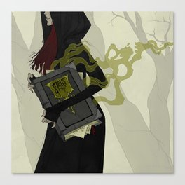 The Spellbook Canvas Print