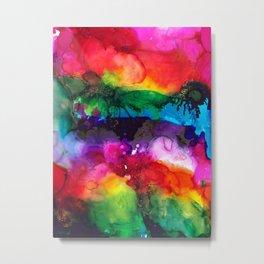 Wild Rainbows Metal Print