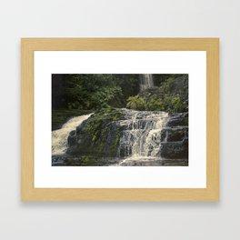 //05-09 DEEP CANYON FALLS Framed Art Print