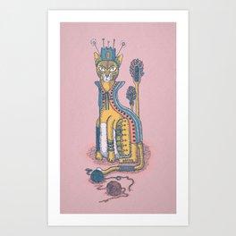 """Tury la Reina Gata"" Art Print"