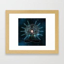 Emanate love Chakra Framed Art Print