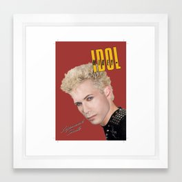 Mikey Idol Framed Art Print