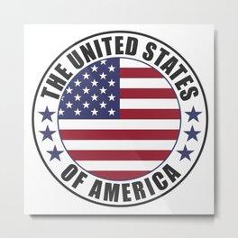 The United States of America - USA Metal Print