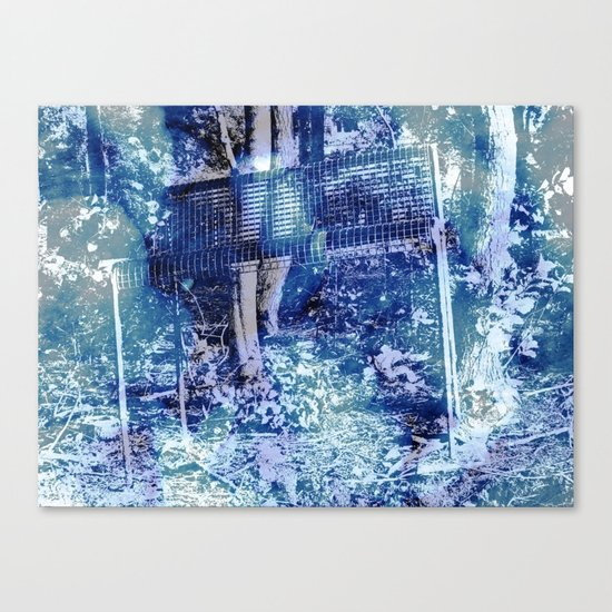 The Giant's Bench Canvas Print