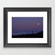 Rockies from The Anthracites Framed Art Print