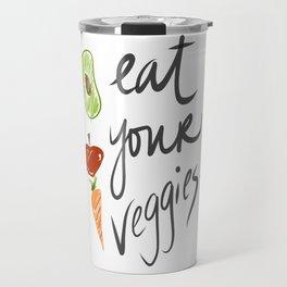 Eat Your Veggies Travel Mug