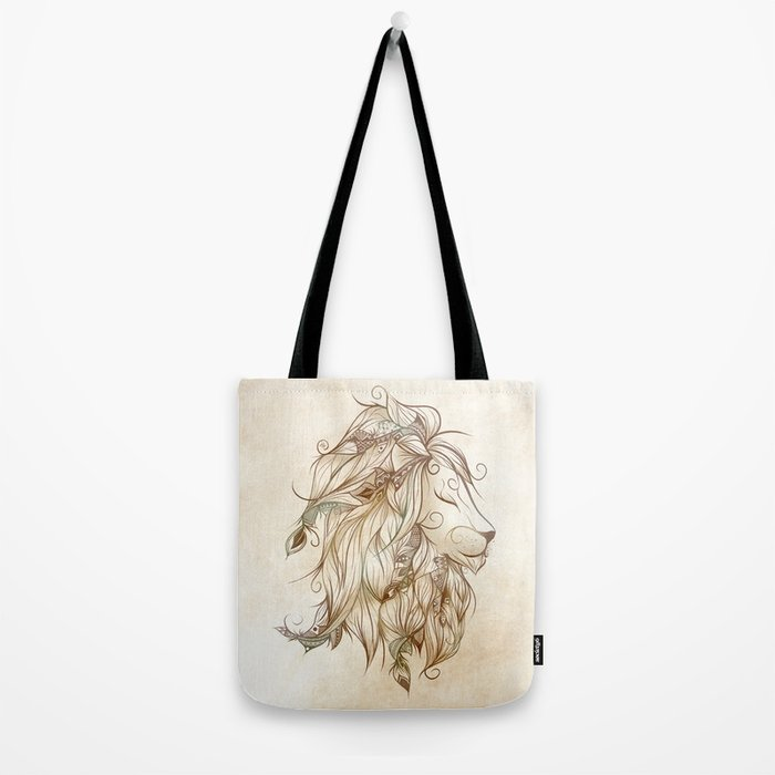 Poetic Lion Tote Bag