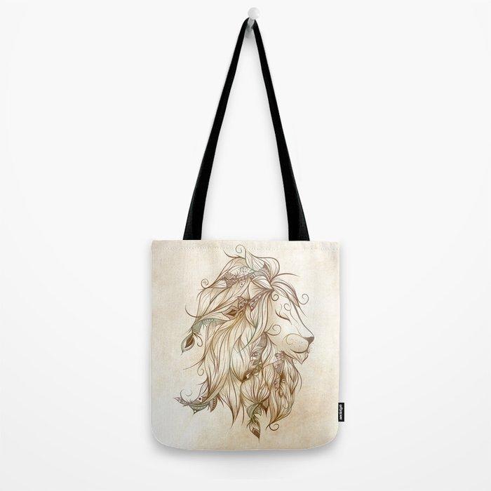 Poetic Lion Tote Bag