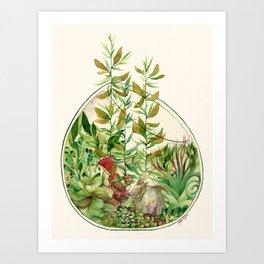 GoaTerrarium Art Print