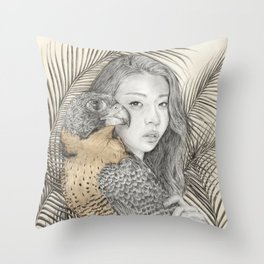 There Are Spies Among Us Throw Pillow