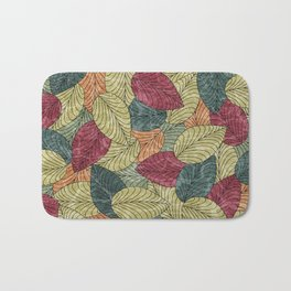 Let the Leaves Fall #04 Bath Mat