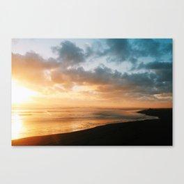 The last glow Canvas Print