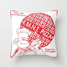 TMNT Pizza Throw Pillow