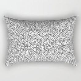 Bank Pattern Rectangular Pillow