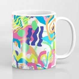 Surf Shapes in White Coffee Mug