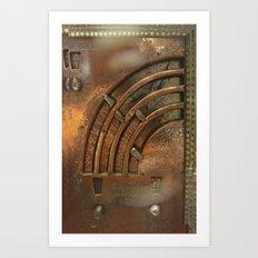 Bronze Digital Art Art Print