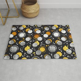 Great Total Solar Eclipse Rug