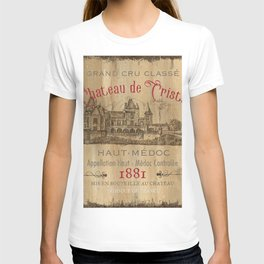 Barrel Wine Label 1 T-shirt