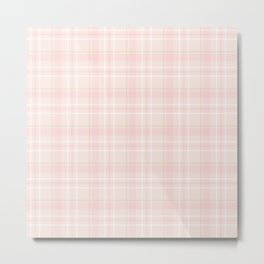 Cute Plaid 2 Metal Print