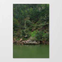 Point Wolfe Canvas Print