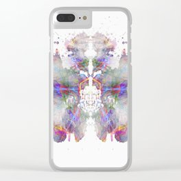 Inkdala LXXXIV Clear iPhone Case